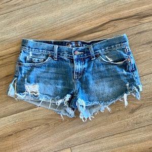 PINK Cutoff Jean Shorts